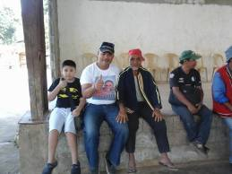 Picture with Dad and a Datu of Bontongon