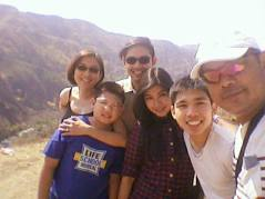 Picture with the family - May 2016
