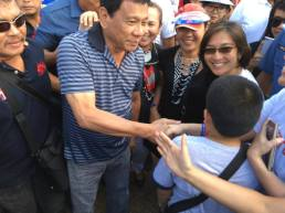 "Meeting Duterte: His comment - ""Doesn't he look too old to be President?"" :-)"