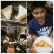 RD's version of a grilled cheese sandwich