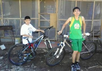 Biking with Kuya Amiel