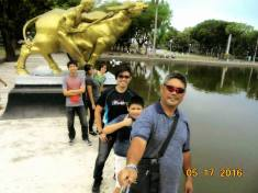At the Bacolod City Lagoon